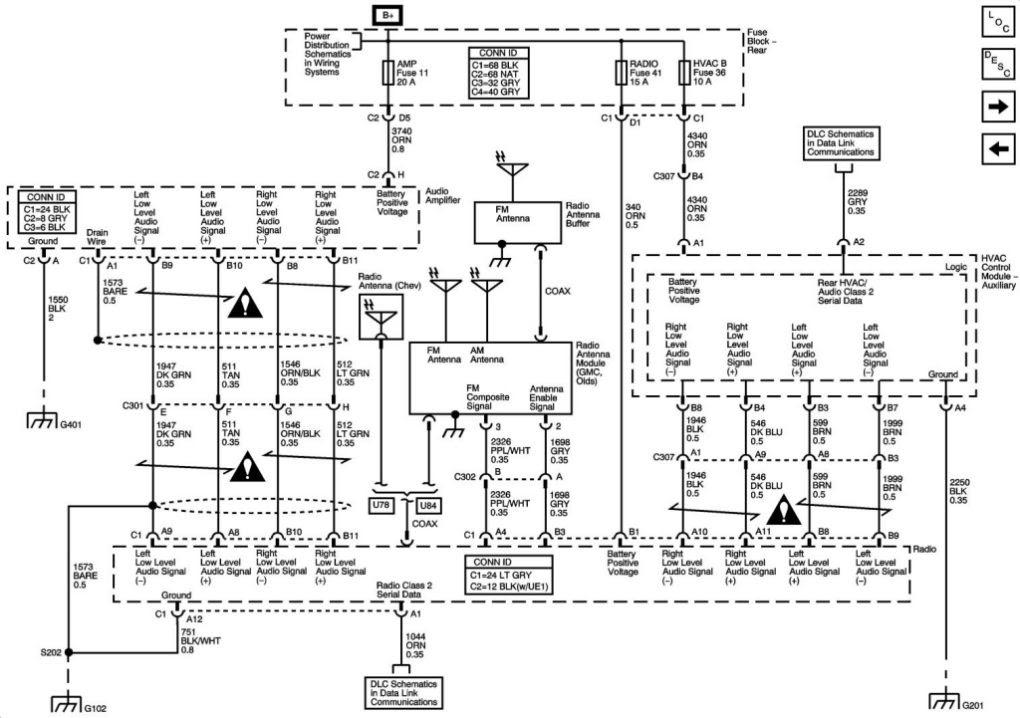 Trailblazer Bose Wiring Diagram