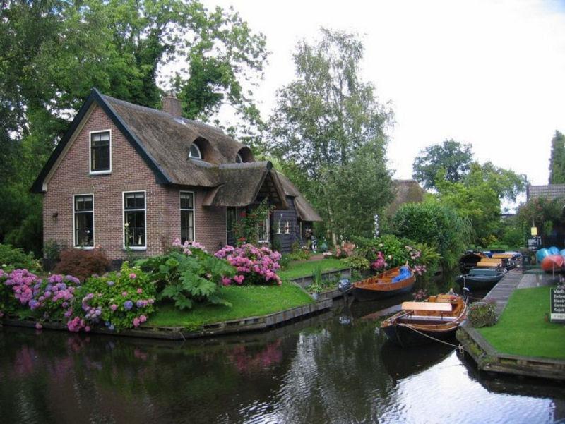 Giethoorn, a Veneza rural da Holanda 01