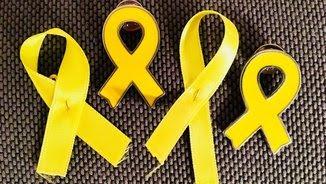 Els llaços grocs han proliferat a Twitter amb l'etiqueta #RiveraQuitameEste