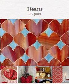 Avente Tile's Hearts Pinterest Board
