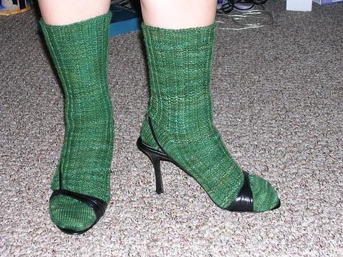Retro Rib Socks - Complete!