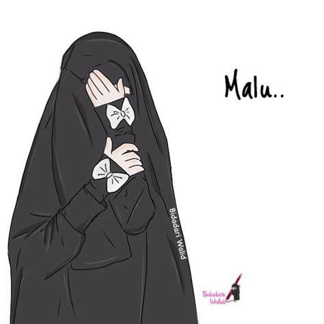 78 Koleksi Gambar Kartun Muslimah Cantik Bercadar Terbaru