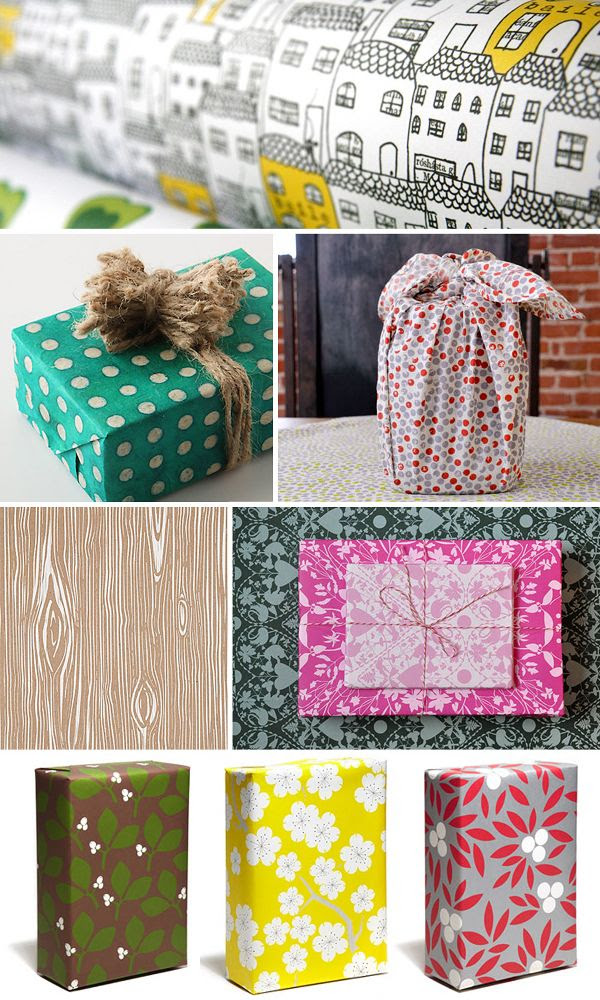 Holiday-Gift-Wrap-Ideas-Inspiration-Pattern