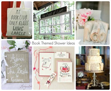 Book Themed Bridal Shower Inspiration   Aisle Perfect