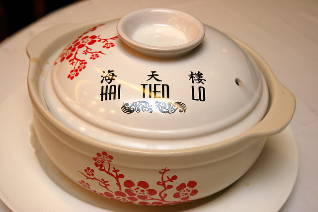This is the ceramic bowl for pencai takeaway