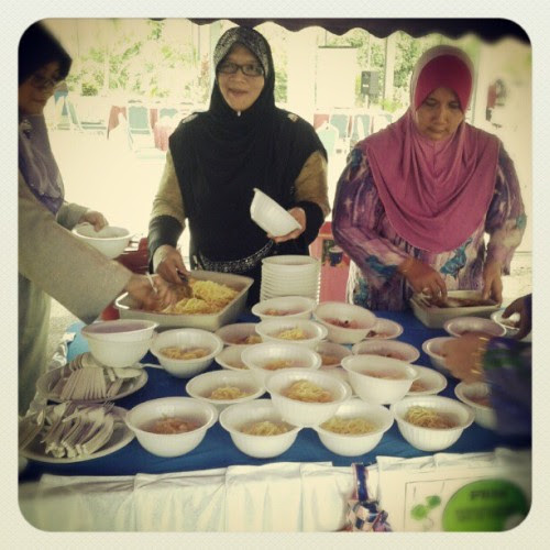 Serve mee bandung @mjlis raya (Taken with Instagram)