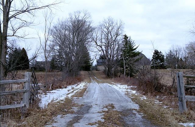 Hobby Farm  Driveway