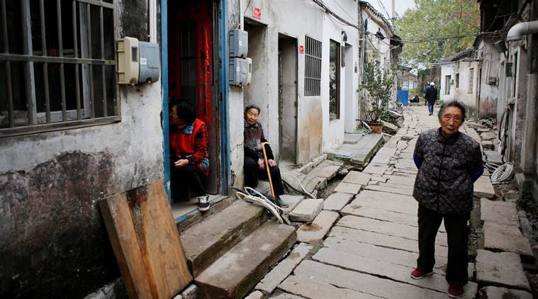 China ageing population