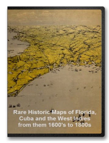 Florida Cuba And West In S From 1600s To 1800s Maps
