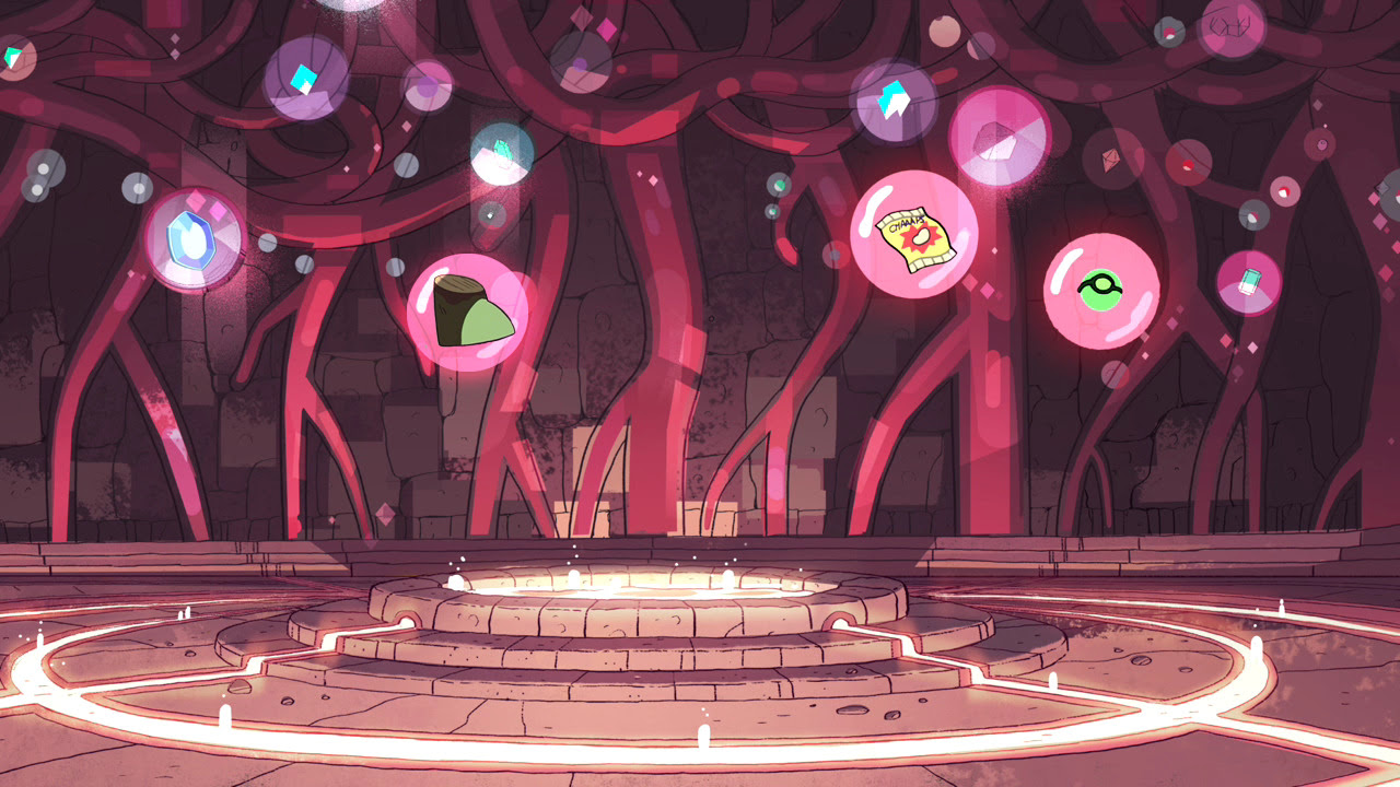 New headcanon: The gems are pretty quick to add their latest victories to the bubble room. Photoshopped by my wife, who came up with the idea.
