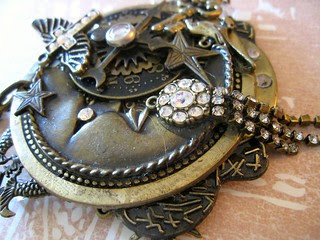 Steampunk Goddess Necklace! 2