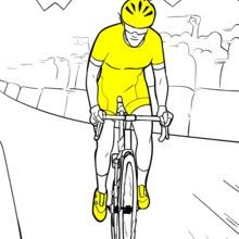 【Meilleur pour les enfants!】 Coloriage Tour De France