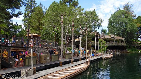 Disneyland Resort, Disneyland, Critter Country, Davy Crockett Explorer Canoes, Limited, Time, Magic