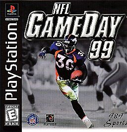 NFL GameDay 99 1999 football Sony PlayStation 1/ps2 2/ps3 3 LikeNew game day 711719423423  eBay