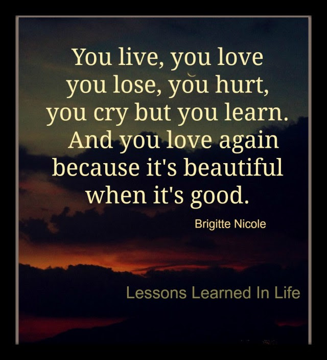 You Learn And Live Quotes Daily Inspiration Quotes