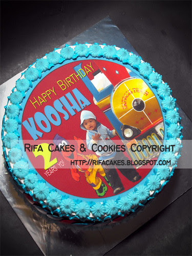 Blue Cake for Koosha