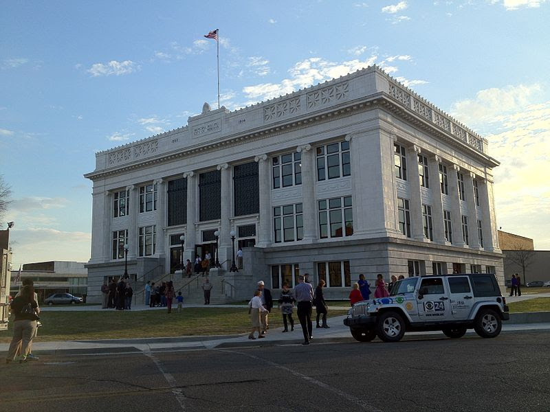 File:Meridian City Hall dedication after restoration.jpg