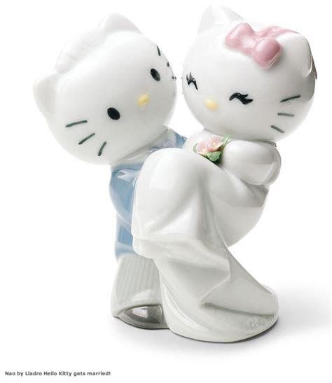 Awww ..wedding cake topper!   Hello Kitty   Pinterest