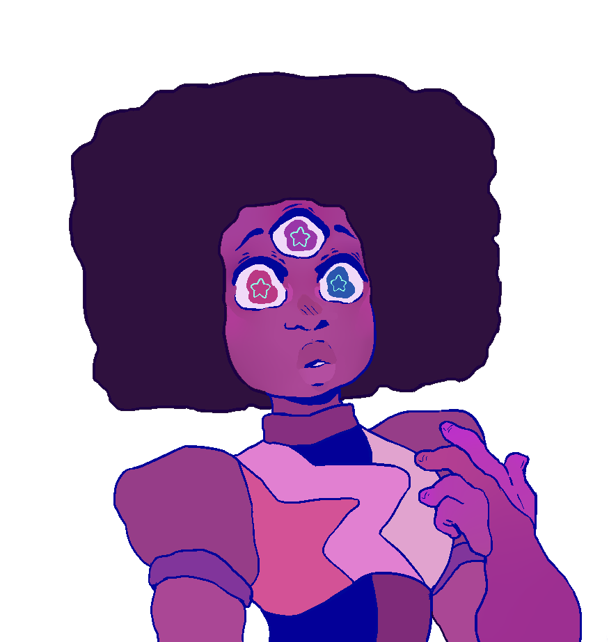 im posting the same garnet but without the dot pattern for the cool anon!
