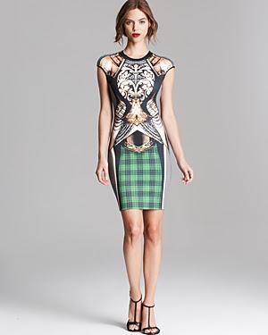 Clover Canyon Magic Armor Neoprene Dress