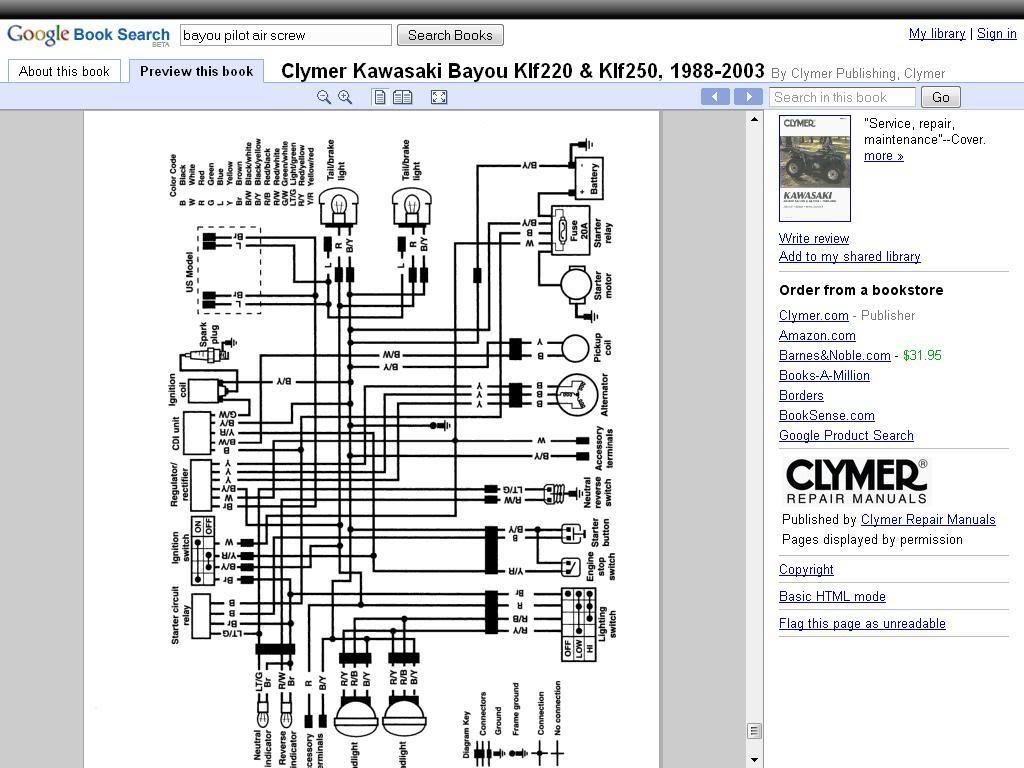 1995 Kawasaki Mule Wiring Diagram