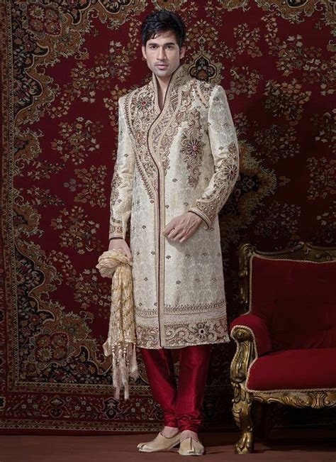 Traditional Indian Sherwani Designs   Bridal Wear