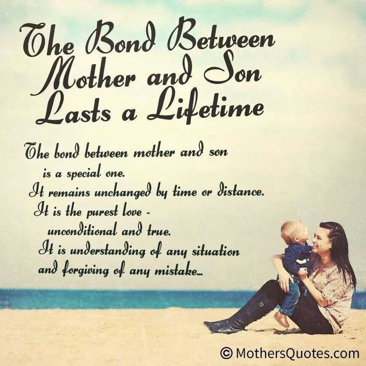 Quotes About Son From Mom 21 Quotes