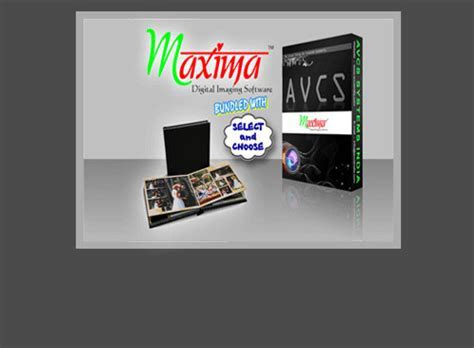 WEDDING ALBUM DESIGN SOFTWARE   AVCSMAXIMA is an ideal