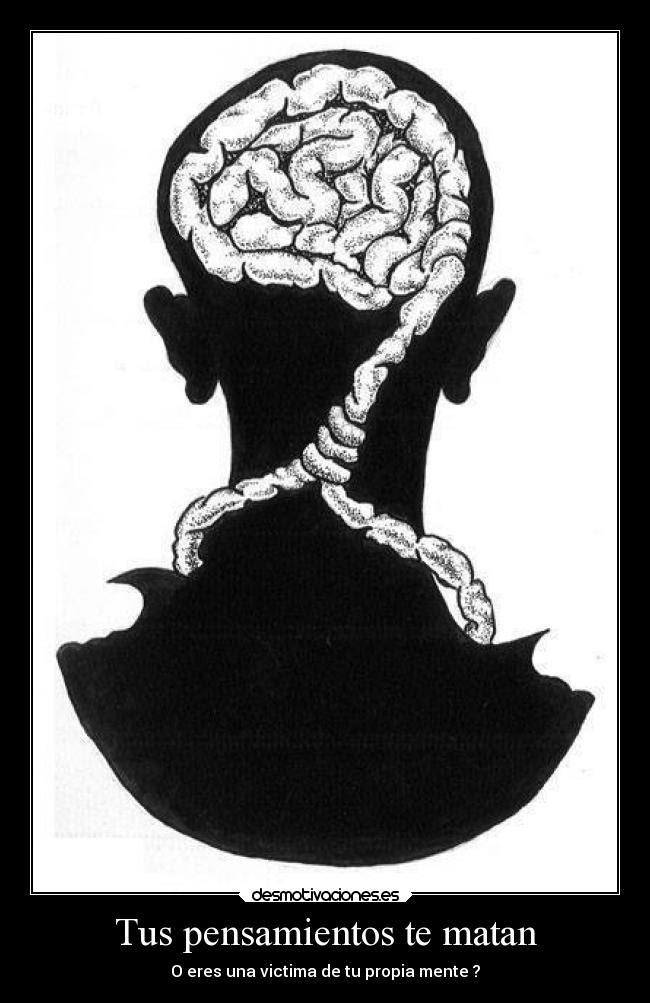 pensamientos que matan