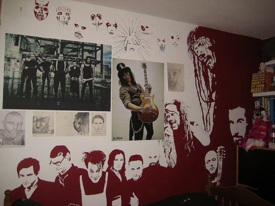 WandStreichenIdeen kreative Wandgestaltung fresHouse