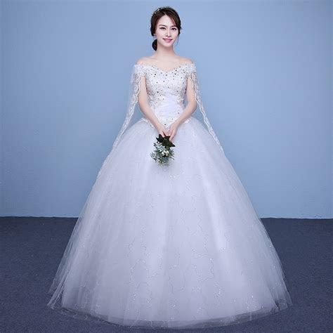 New 2017 Plus Size Boat Neck Short Sleeves Wedding Dresses