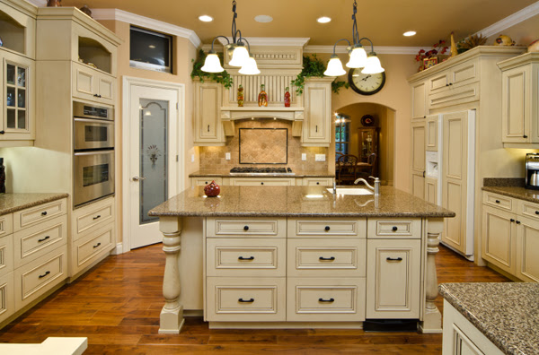 Antique White Kitchen Cabinets House Furniture
