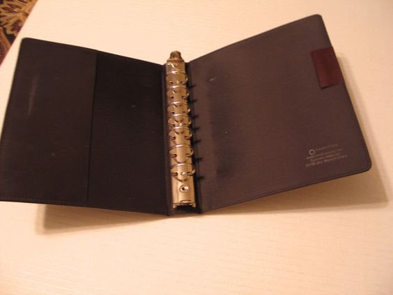 Leather binder, Brown and Organizers on Pinterest