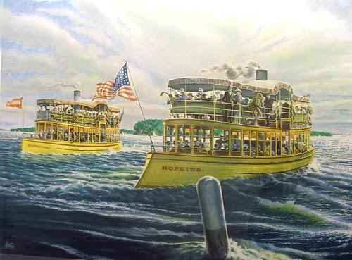 19th Century Steamer Race on Minnetonka