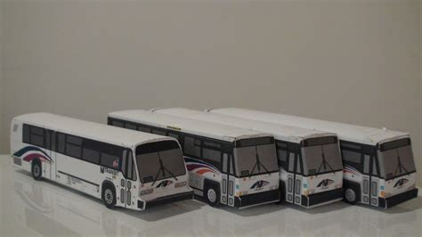 canadian paper bus models page  dac