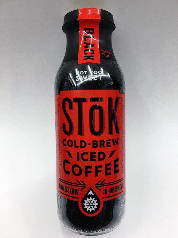 Stok Black Cold Brew Iced Coffee Soda Pop Shop