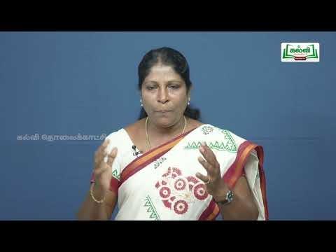 வகுப்பு 10 தமிழ் 7 நாகரிகம் தொழில் வணிகம் கவிதைப் பேழை சிலப்பதிகாரம் Kalvi TV