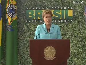 A presidente Dilma Rousseff (Foto: Reprodução)