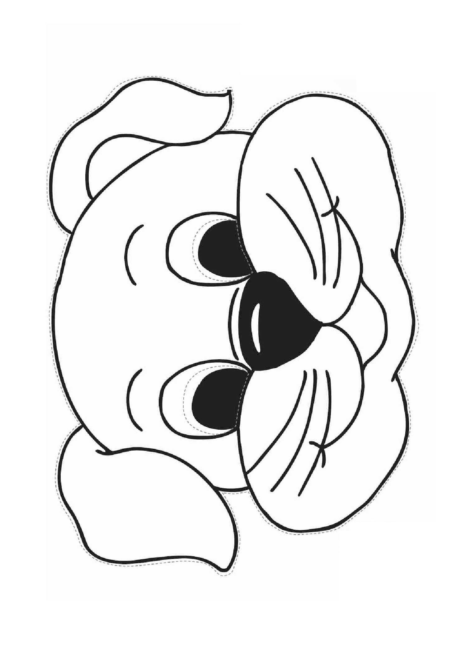 Kağıttan Köpek Maskesi