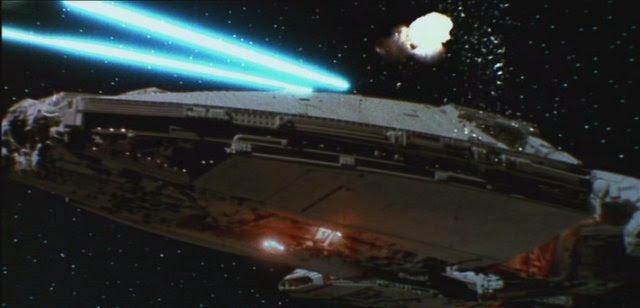 star wars vs star trek ships. in Star Wars and Star Trek