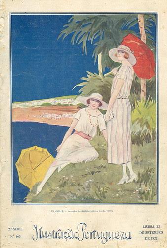 Ilustração Portuguesa, September 23 1922 - Cover