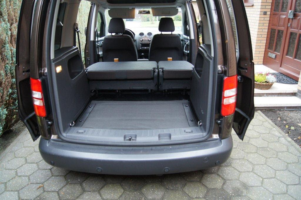 volk wagon volkswagen caddy maxi kofferraum masse. Black Bedroom Furniture Sets. Home Design Ideas