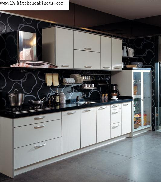 China Melamine Kitchen Cabinet LH ME017 China Melamine
