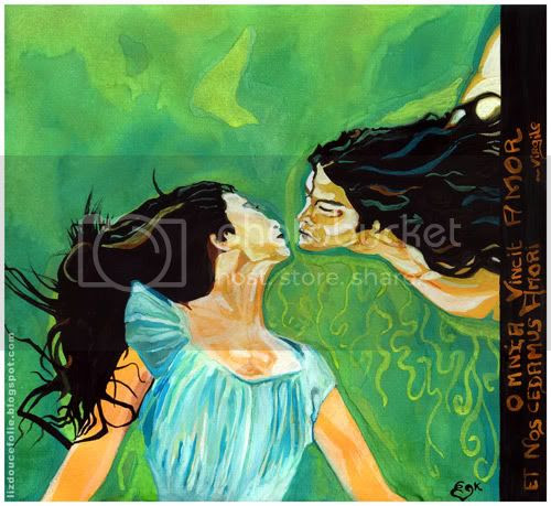 les amants the lovers dessin peinture drawing amoureux amour création liz douce folie