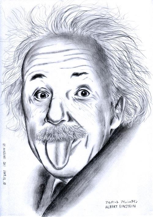 偉大お茶目なアインシュタイン博士2度目mm べろべろべσ