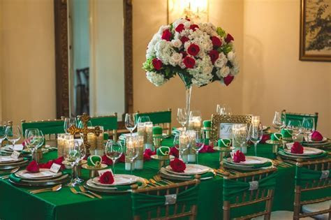Capitol Inspiration: A Bold Green & Gold, Great Gatsby