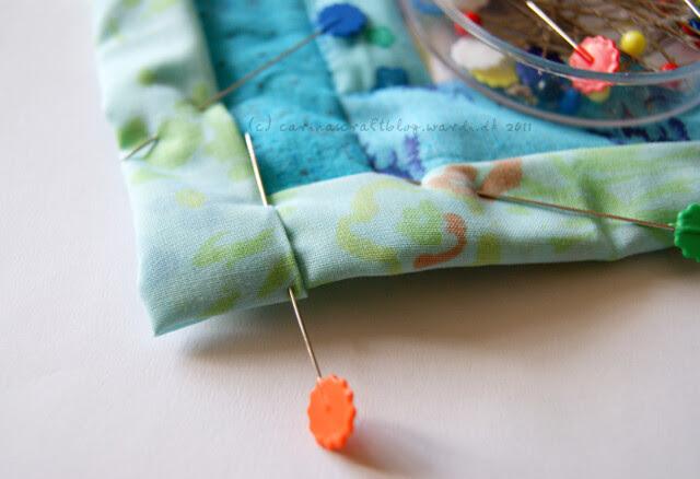 Tutorial: quilt self binding step 10