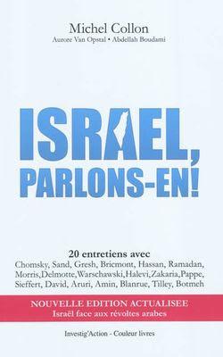 Israël Parlons-en, Michel Collon, cover-book