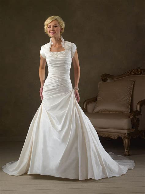 Cheap Modest Wedding Dresses   Dresscab