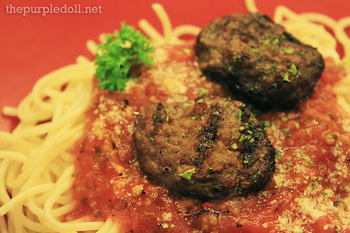 BBB Meatballs in Fresh Tomato